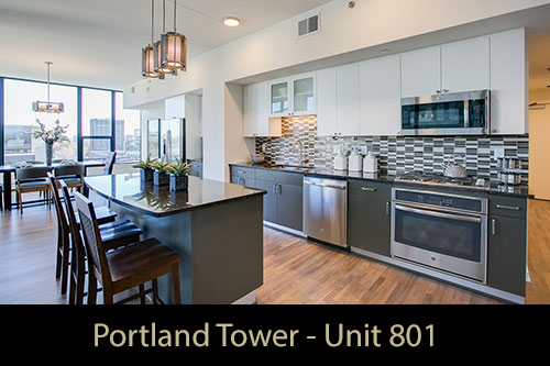 Model - Portland Tower Unit 801