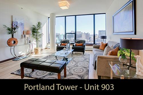Model - Portland Tower Unit 903