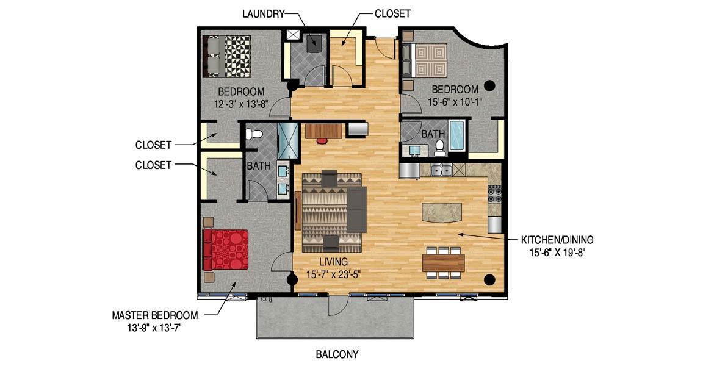 Legacy Condos Minneapolis - Unit 1425
